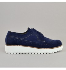OXFORDS 17K01KX368 ΜΠΛΕ