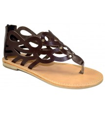 SANDALS 14K01KL523 BROWN