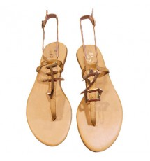 SANDALS 14K01MOYO50 TAUPE