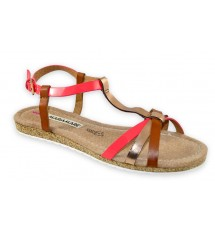 SANDALS 15K01MRM787 RED