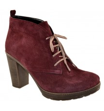BOOTIES 15X01ROD50K BORDEAUX