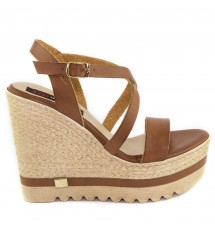 PLATFORMS 16K01FU151 BROWN
