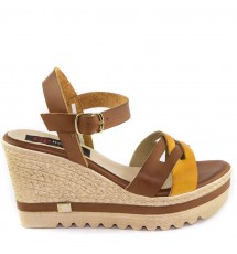 PLATFORMS 16K01FU163 BROWN