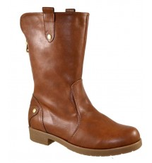 BOOTIES 16X01PL69 TAUPE