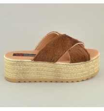 PLATFORMS 17K01MEL412 BROWN