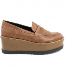 LOAFERS 17X01MEL305 TAUPE