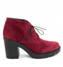 BOOTIES 17X01PL70K BORDEAUX