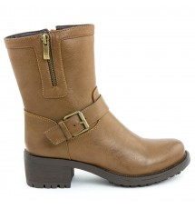 BOOTIES 17X01SDC486 TAUPE