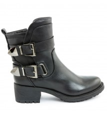 BOOTIES 17X01SDC487 BLACK