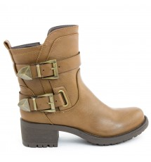 BOOTIES 17X01SDC487 TAUPE