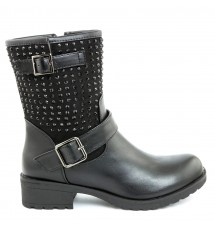 BOOTIES 17X01SDC716 BLACK