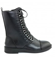 BOOTIES 17X01SDC985 BLACK
