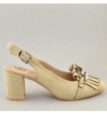 PUMPS 18K01KYL6402 BEIGE