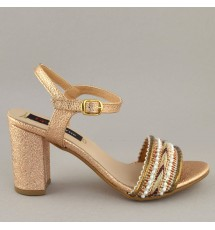 SANDALS 18K01PL111 COPPER