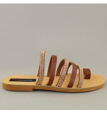 SANDALS 18K01ROD038 TAUPE