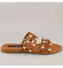 SANDALS 18K01ST2 TAUPE