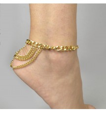 SHOE BRACELET 18K04GP60187 GOLD