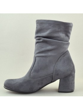 BOOTIES 18X01PL100K GREY