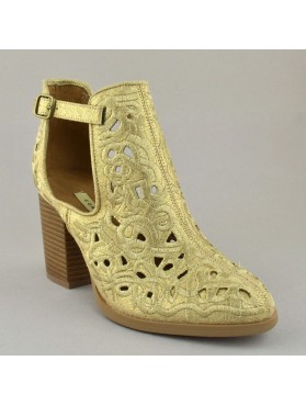 BOOTIES 19K01CRN9000 GOLD