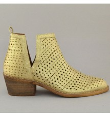 BOOTIES 19K01CRN9004 GOLD