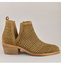 BOOTIES 19K01CRN9004 TAUPE