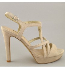 SANDALS 19K01CRN9103 NUDE