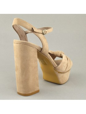 SANDALS 19K01CRN9140 NUDE