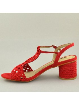 SANDALS 19K01CRN9186 RED