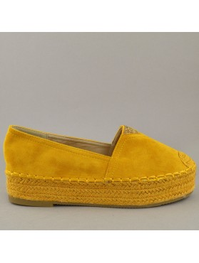 ESPADRILLES 19K01GP3041 YELLOW