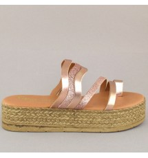 SANDALS 19K01MEL383 COPPER