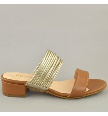 MULES 19K01PL29 TAUPE
