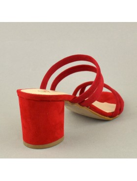 MULES 19K01PL34 RED