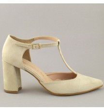 PUMPS 19K01PL40 BEIGE
