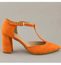 PUMPS 19K01PL40 ORANGE