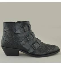 BOOTIES 19X01CRN8741 BLACK
