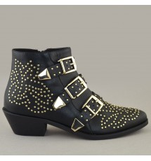 BOOTIES 19X01CRN8741 GOLD
