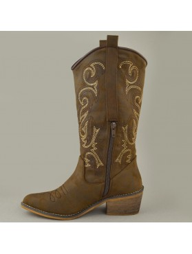 BOOTS 19X01CRN8748 BROWN
