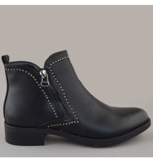 BOOTIES 19X01GP4197 BLACK