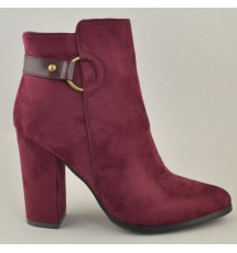 ANKLE BOOTIES 19X01GP6865 BORDEAUX
