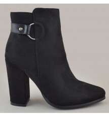 ANKLE BOOTIES 19X01GP6865 BLACK