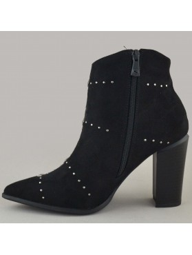 BOOTIES 19X01KYL8704 BLACK