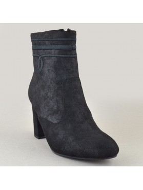 BOOTIES 19X01KYL9805 BLACK