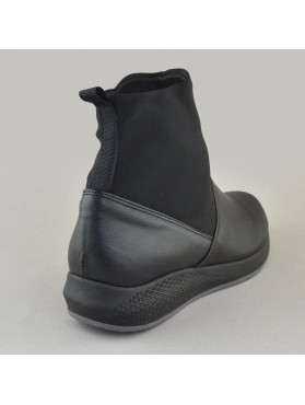 BOOTIES 19X01PL24 BLACK