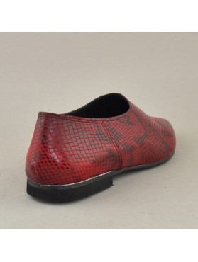 SLIPON 19X01PL800F BORDEAUX