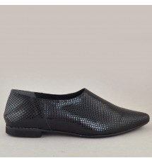 SLIPON 19X01PL800F ΜΑΥΡΟ