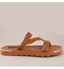 FLAT SANDALS 20K01ATH1130 TAUPE