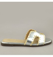 SANDALS 20K01MNV11126 SILVER