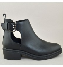 BOOTIES 20X01CRN9660 BLACK