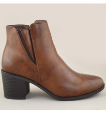 BOOTIES 20X01MNV10220 TAUPE