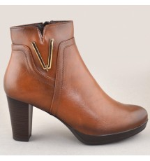 BOOTIES 20X01MNV10939 BROWN
